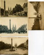 03 - Moulins - Place D´Allier N°III - Lot De 10 Cartes. - Moulins