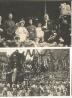 Guerre 14-18   Remise De La Légion D'honneur à La Ville De LIEGE (24 Juillet 1919 (2 Cartes) - Betogingen
