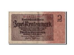 Allemagne, 2 Rentenmark, 1937, KM:174b, 1937-01-30, TB - [ 3] 1918-1933 : République De Weimar