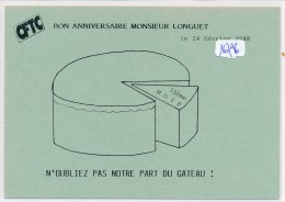 CPA -  Thèmes - Carte Pétition Syndicale ( Détail Scan) - Syndicats