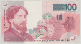 "B00408  100 Francs ""ENSOR""  Signé VERPLAETSE - Presque Neuf - 100 Frank"