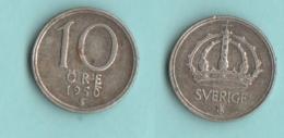 Sverige Svezia 10 Ore 1950 - Svezia