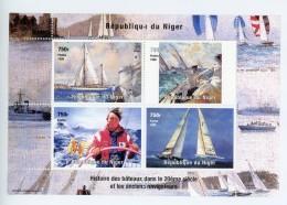 Histoire Des Bâteaux,sport Nautique-Niger 1998YT 1320/23***MNH***MNH - Ships