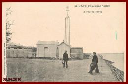 Dept 80 St Valery Sur Somme  - Le Feu De Marée    2 Scans - Saint Valery Sur Somme