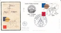 FRANCE - FDC 23/15/1981 - Yvert 2141 - Philexfrance 82 - 1980-1989