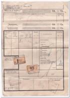 Vrachtbrief Nederlandsche Spoorwegen 2-4-1930 - Briefe U. Dokumente
