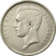Monnaie, Belgique, 5 Francs, 5 Frank, 1930, TTB, Nickel, KM:97.1 - 1909-1934: Albert I