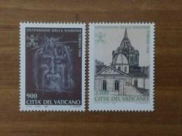 1998 VATICANO FRANCOBOLLI NUOVI STAMPS NEW MNH** - Ostensione Della Sindone Nel Duomo Di Torino - - Vatican