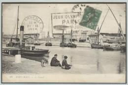 FRANCE Olympic Machine Cancel Marseille Of 21 II 1924 As Arrival Cancel. - Summer 1924: Paris