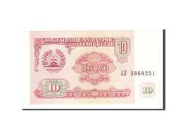 Tajikistan, 10 Rubles, 1994, KM:3a, Undated, NEUF - Tadjikistan