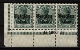 Belgien,12 Ia,4866.16,xx (4130) - Besetzungen 1914-18