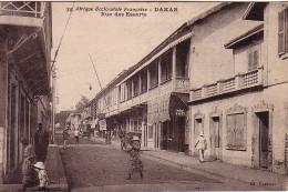 SENEGAL - DAKAR - AFRIQUE OCCIDENTALE FRANCAISE - RUE DES ESSARTS - CARTE POSTALE NEUVE. - Senegal