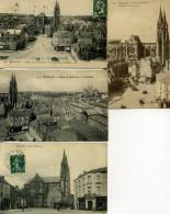 03 - Moulins - Place Achille Roche - Lot De 10 Cartes. - Moulins