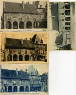 03 - Moulins - Anciennes Halles - Lot De 10 Cartes. - Moulins