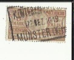 Timbre Fiscal De 5 Mark ( Fracht-Stempel ) Obliteré Munster 1819 - Otros