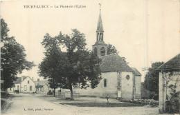 58 TOURY LURCY  La Place De L'église   2 Scans - France