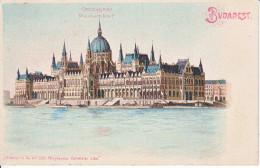 BUDAPEST - LITHO - PARLEMENT - 03.1928 - Hongrie