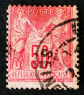 SAGE 1890 - OBLITERE - YT 98 - 1876-1898 Sage (Type II)