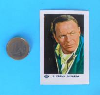 FRANK SINATRA Singer & Actor - Yugoslav Vintage Collectiable Card Kras * Rock-music Musique Musik Musica - Cinema & TV