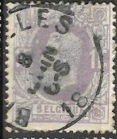 _6Wz-401: N° 36: Type E9: BRUXELLES - 1869-1883 Léopold II