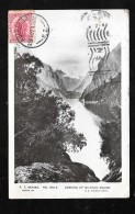 ENVOI D'AUCKLAND EN 1907 -  Looking Up Milford Sound    - Hau137 - Nouvelle-Calédonie