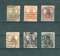 Collection ALLEMAGNE ; GERMANY; Empire ; 1916-19 ; Y&T N° Entre 96 Et 103 ; Lot : 077 ; Oblitéré - Allemagne