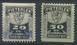 1359 - PIETERLEN Fiskalmarken - Steuermarken