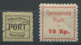 1360 - PORT Fiskalmarken - Fiscaux