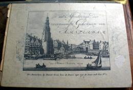 OLANDA - OLD COLLECTION 100 INCISIONI RIPRODOTTE 1770-1800 CITTA' DI AMSTERDAM - Grafica & Design