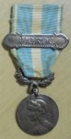 1893 Médaille Du Maroc Avec Barrette Maroc Et Son Ruban Module En Argent Signée Lemaire Postage Voir Description - France