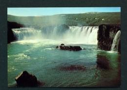 ICELAND  -  Gooafoss Waterfall  Unused Postcard - Iceland