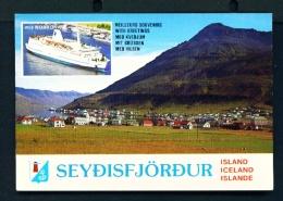 ICELAND  -  Seydisfjordur  Unused Postcard - Iceland