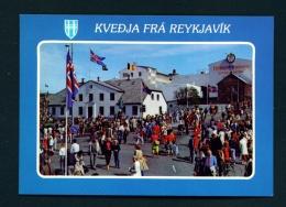 ICELAND  -  Reykjavik  Unused Postcard - Iceland