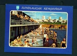 ICELAND  -  Reykjavik  Sundlaugar  Unused Postcard - Iceland