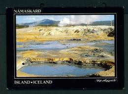 ICELAND  -  Namaskard  Unused Postcard - Iceland