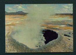 ICELAND  -  Namafjall  Mud Pot  Unused Postcard - Iceland