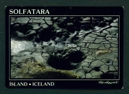 ICELAND  -  Leirhnjukur  Solfatara  Unused Postcard - Iceland