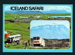 ICELAND  -  Dual View  Lake Myvatn And Heroubreio  Unused Postcard - Iceland