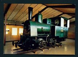 ICELAND  -  Reykjavik Museum  Steam Locomotive Used In Building The Harbour In 1913  Unused Postcard - Iceland
