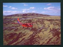 FALKLAND ISLANDS  -  FIGAS  Pilatus Norman Islander  Unused Postcard - Falkland Islands