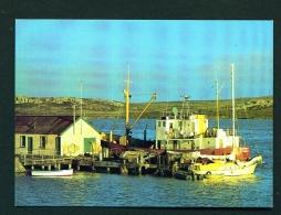 FALKLAND ISLANDS  -  Port Stanley  Government Jetty  Unused Postcard - Islas Malvinas