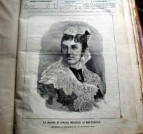 """ITALIA 1878 - RACCOLTA DI 70 PAGINE DELLA """"RIVISTA ILLUSTRATA"""" DEL 1878 - Livres, BD, Revues"""
