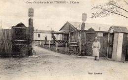 36 INDRE- LA MARTINERIE Camp D´aviation, L'entrée (voir Descriptif) - France