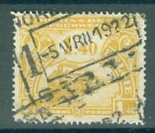 """BELGIE - OBP Nr TR 118 - Cachet  """"NORD-BELGE - STATTE 1"""" - (ref. AD-3529) - 1915-1921"""
