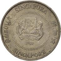 Singapour, 10 Cents, 1989, British Royal Mint, SUP, Copper-nickel, KM:51 - Singapore