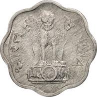 INDIA-REPUBLIC, 2 Paise, 1975, Hyderabad, SUP, Aluminum, KM:13.6 - Inde