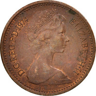 Grande-Bretagne, Elizabeth II, 1/2 New Penny, 1974, SUP, Bronze, KM:914 - 1971-… : Monnaies Décimales