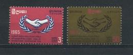 CEYLON    1965    ICY    Set  Of      MH - Sri Lanka (Ceylon) (1948-...)