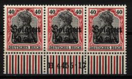 Belgien,20bI,4455.17,xx (4130) - Besetzungen 1914-18