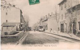 Saint Marcel Route De Marseille Carte En Bon état - Andere Gemeenten